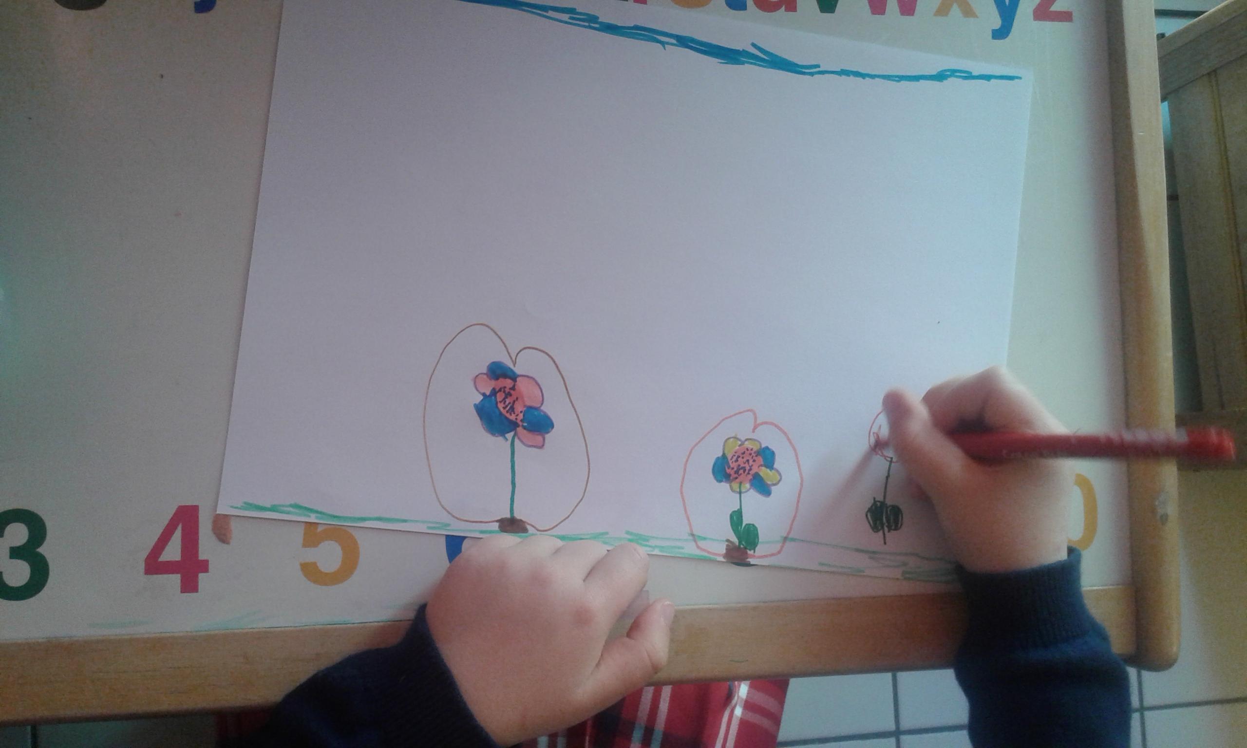 respire tres rapidement enfant dessin animé